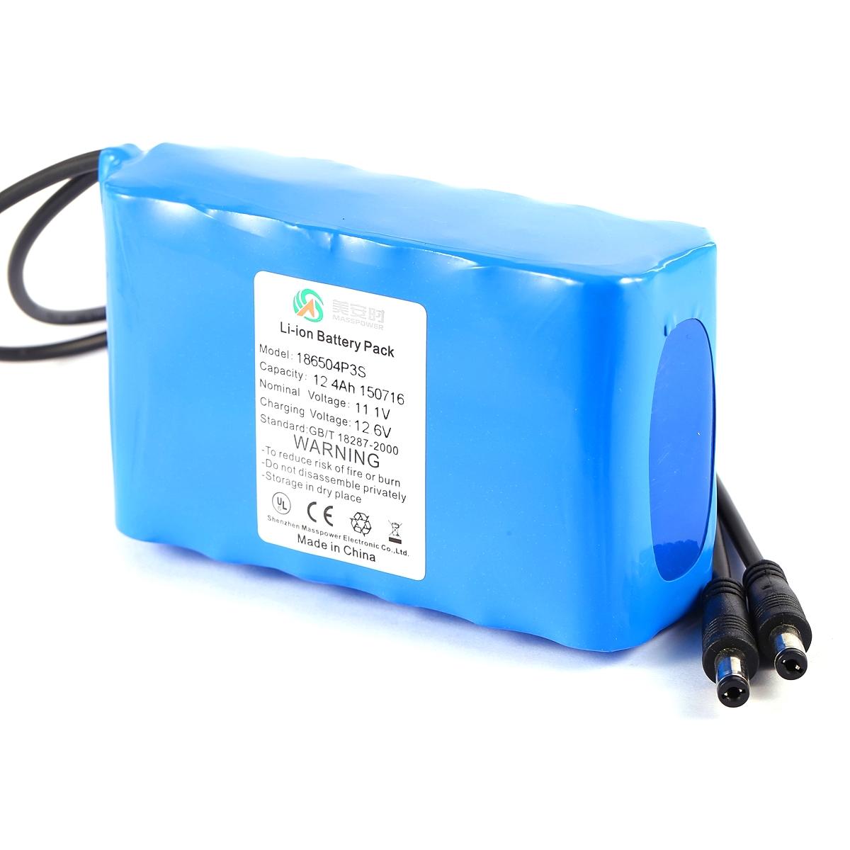 11.1V锂电池组丨便携采样器