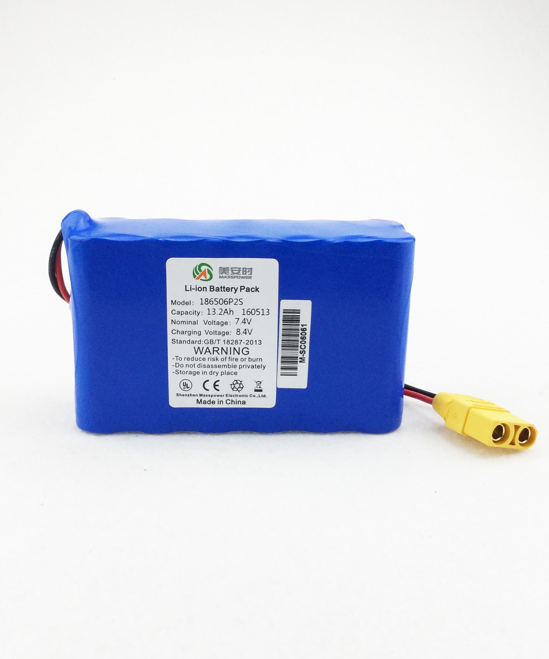 7.4V13.2Ah丨便携式制氧机