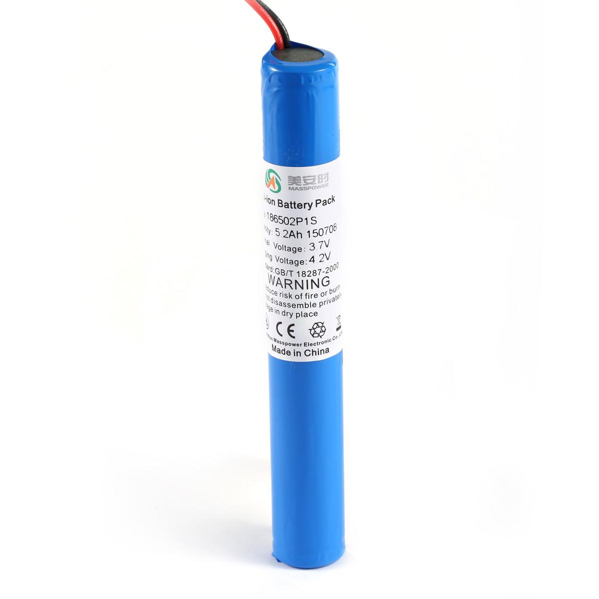 3.7V 50.2Ah丨LED灯具锂电池