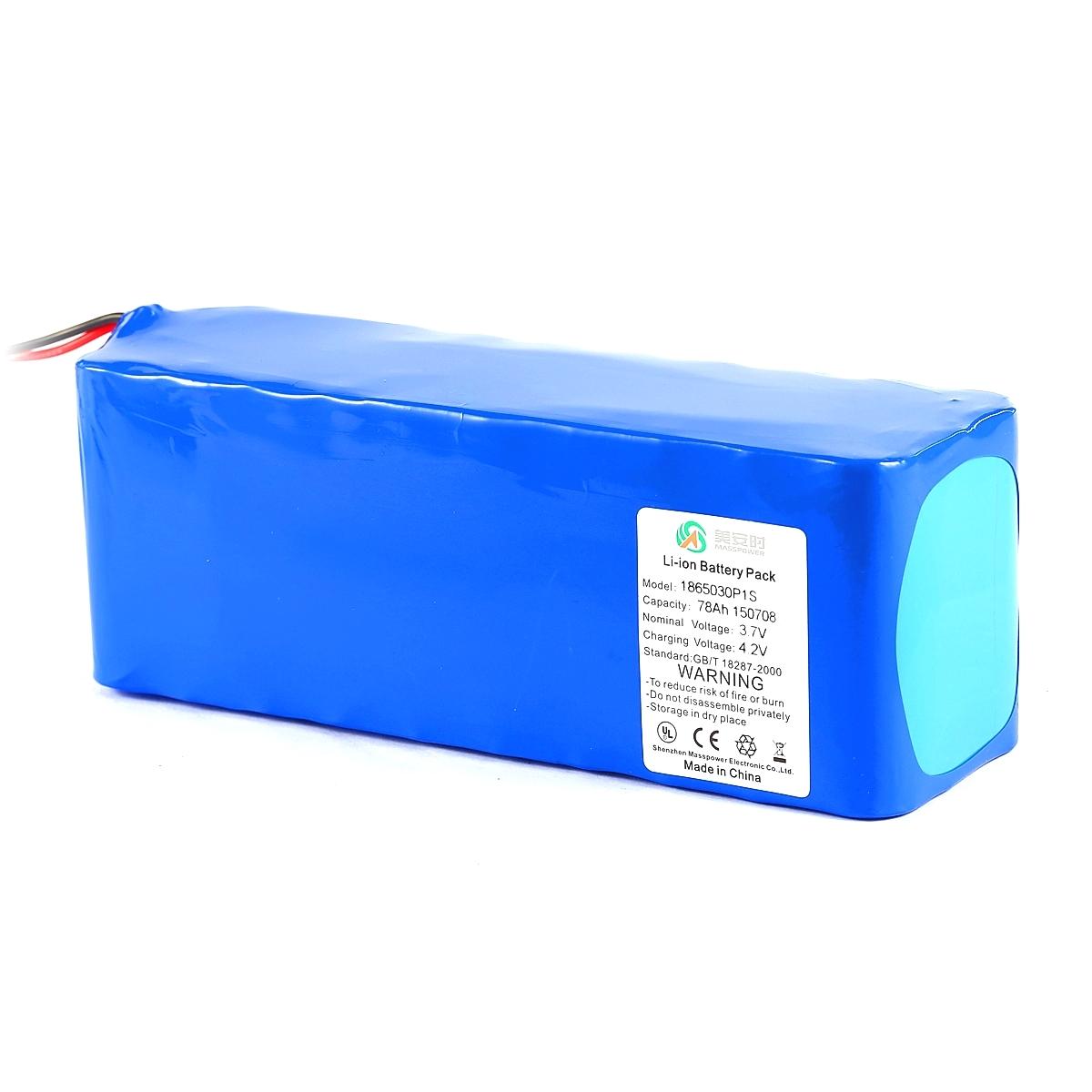 3.7V 78Ah丨工业通讯设备锂电池