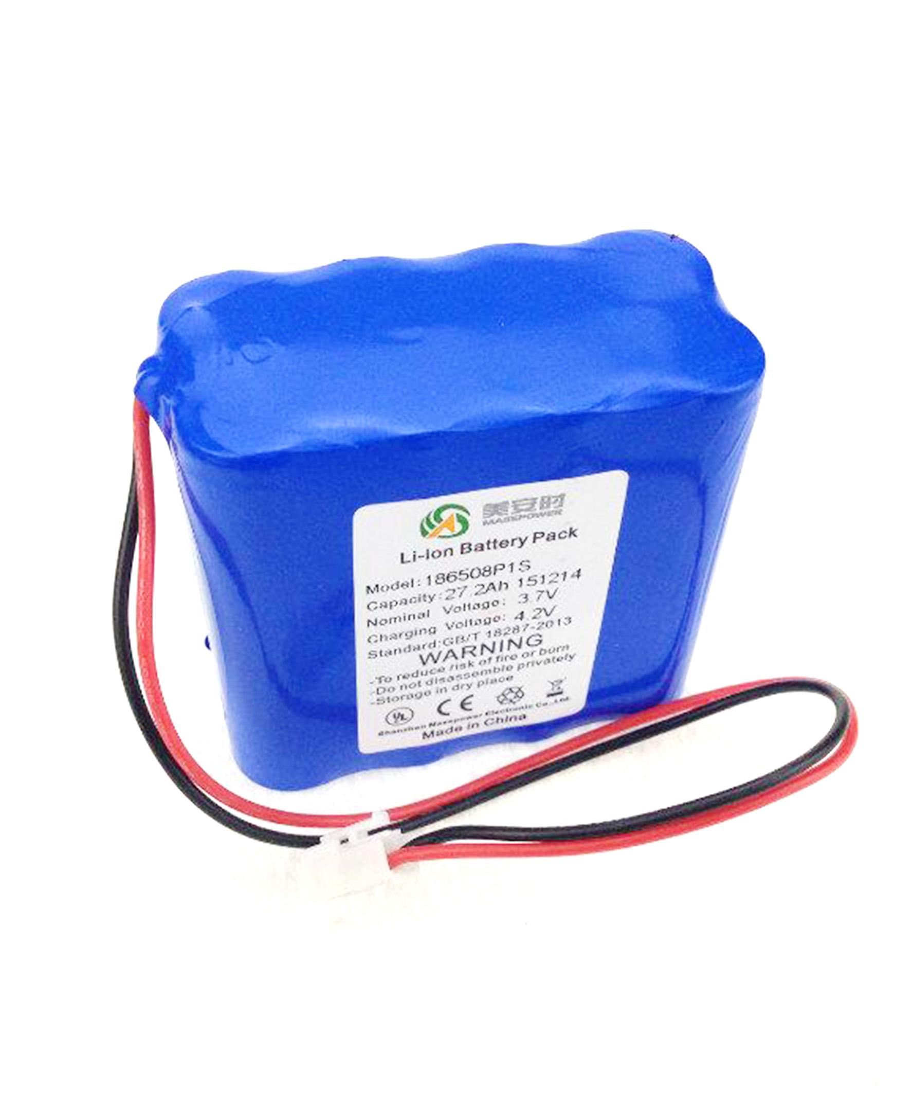 3.7V 27.2AH丨警用设备锂电池