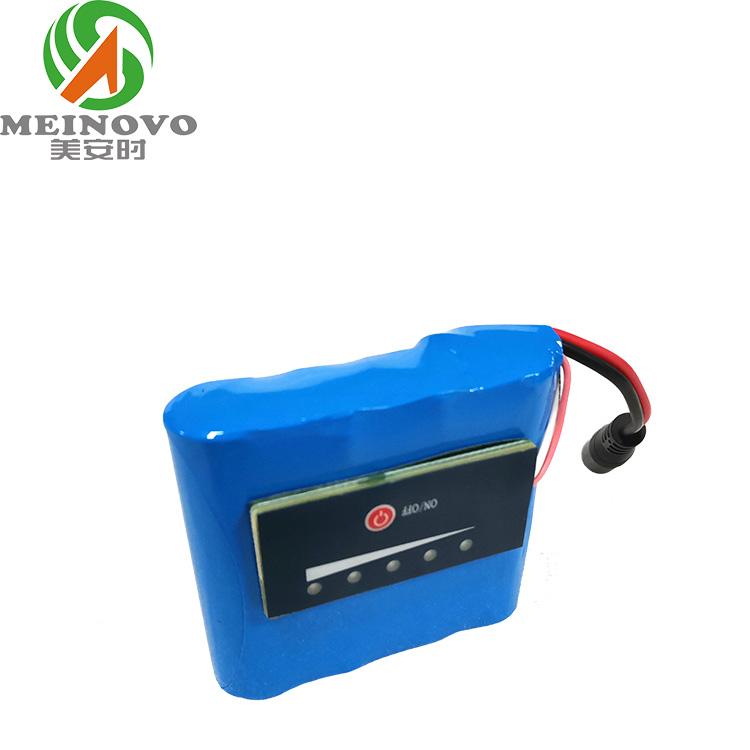 14.8V 3200mAh 1P4Sl锂电池组 带电量显示板