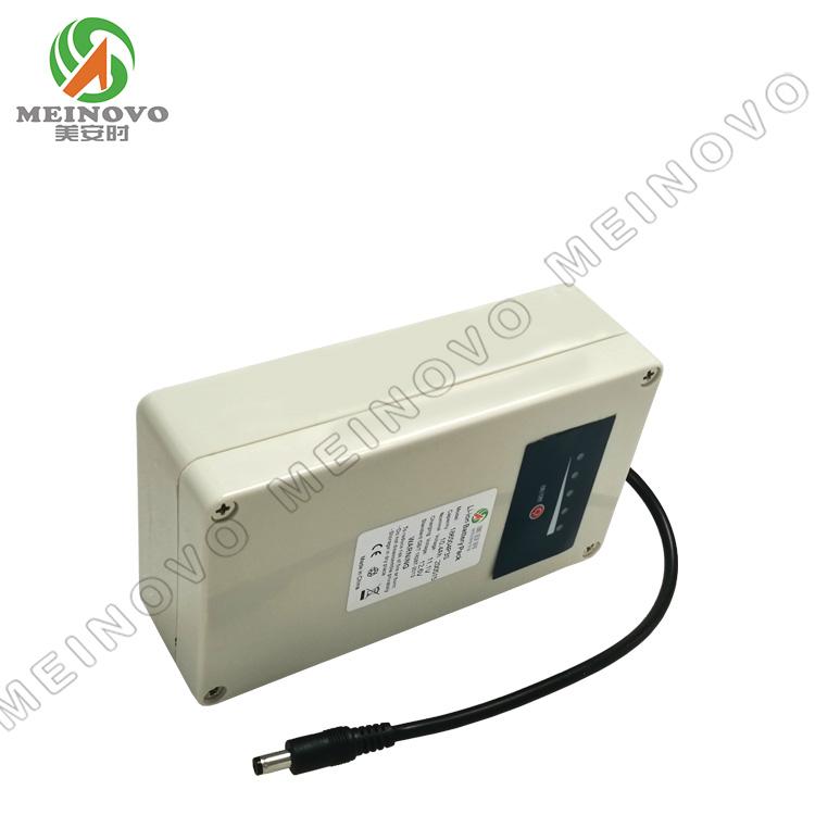 12V 电子设备锂电池 带外壳 4P3S 带电量显示板